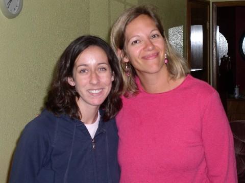 Jenn and Kathy
