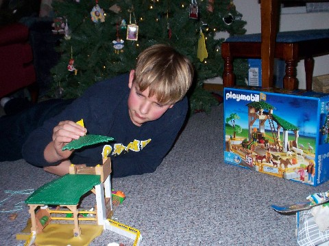 Joshua and Playmobil