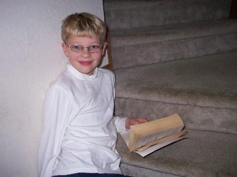 Daniel reading