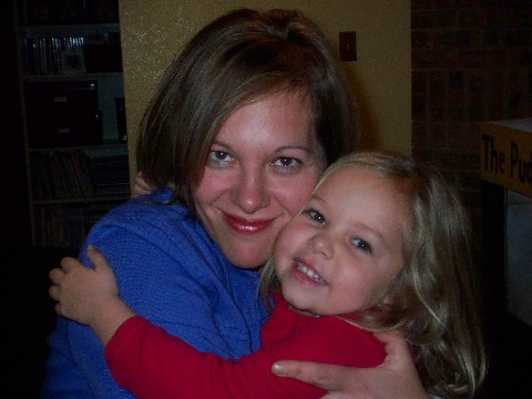 Sarah and mommy