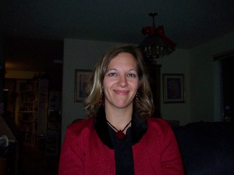 Christmas before hair shot