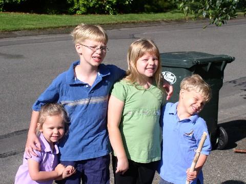 4 kiddos