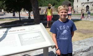 We had to go see the Alamo.  We were in San Antonio.  We had time.
