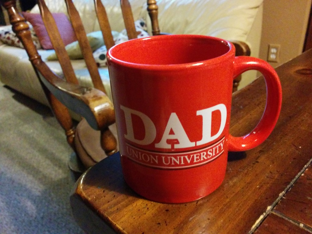 Union University (where Joshua and Rachel are, this Fall) has been very kind and generous to both my kids.
