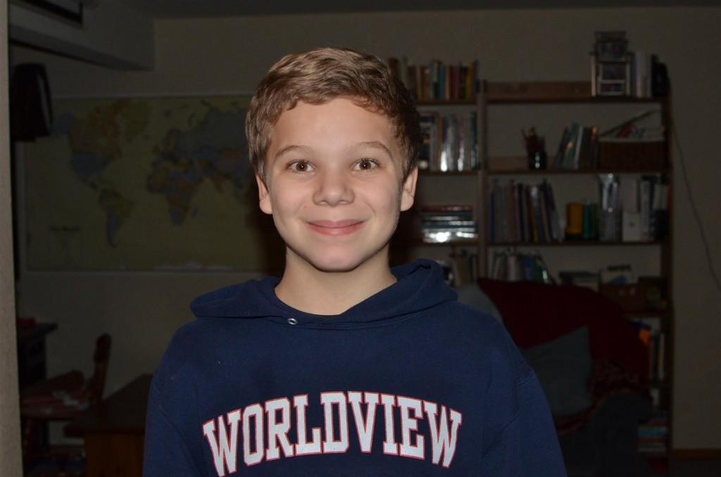 He always was a good-looking kid.