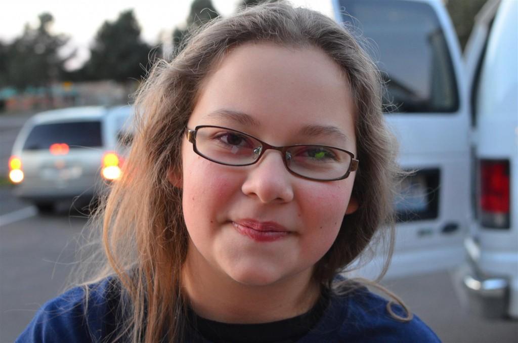 My sweet Sarah