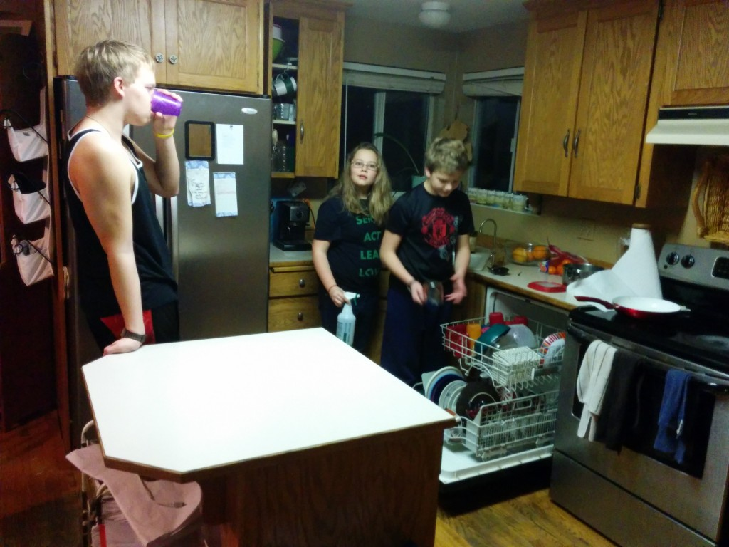 Three of my favorite dishwashers.