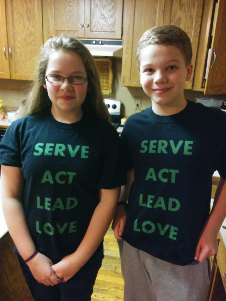 Serve, Act, Lead, Love