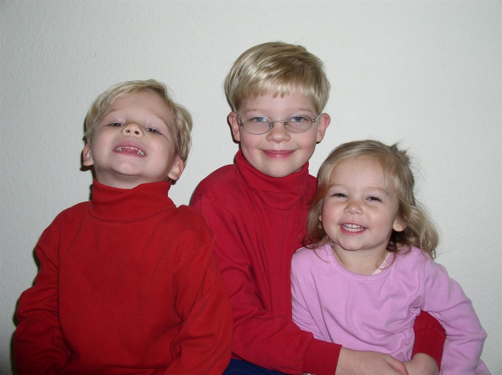 2004 - sweet faces!