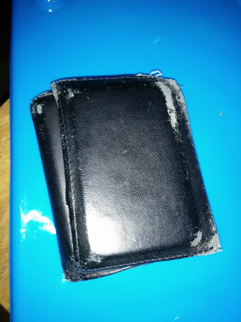 I got a new wallet for Christmas -- I think it is time to move everything over to the swanky new one.