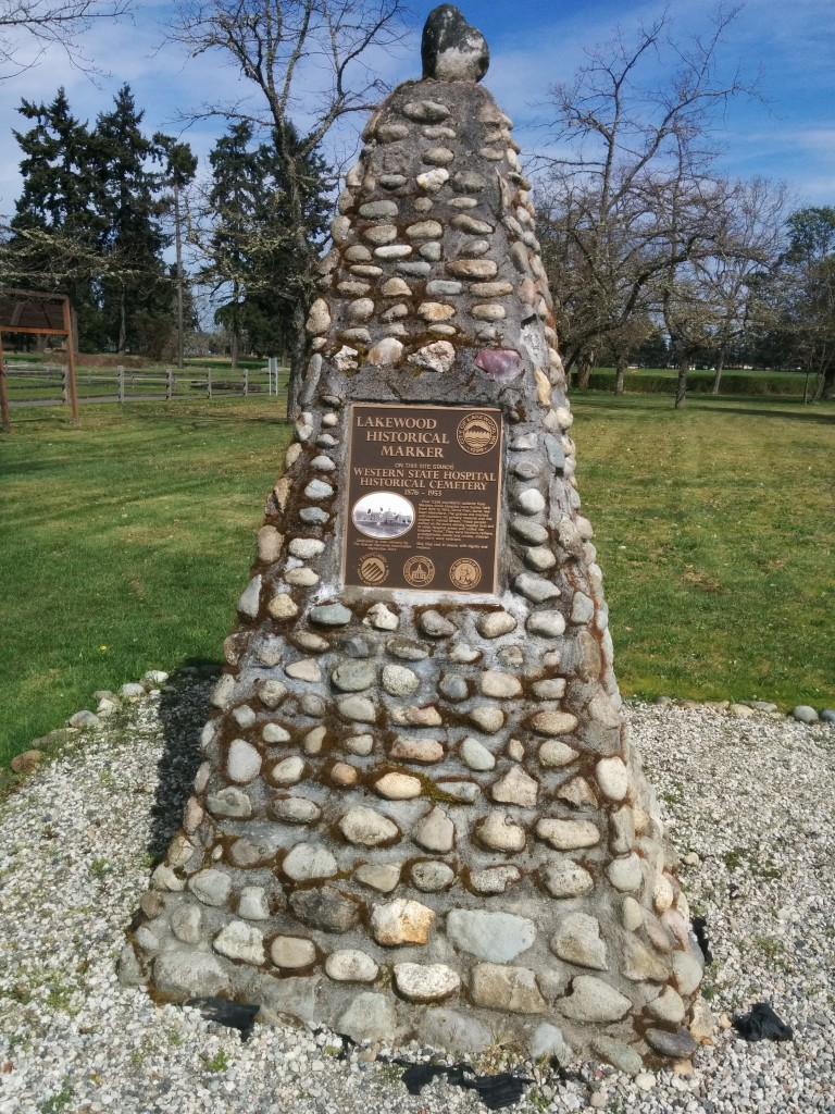 The Western State Cemetery monument