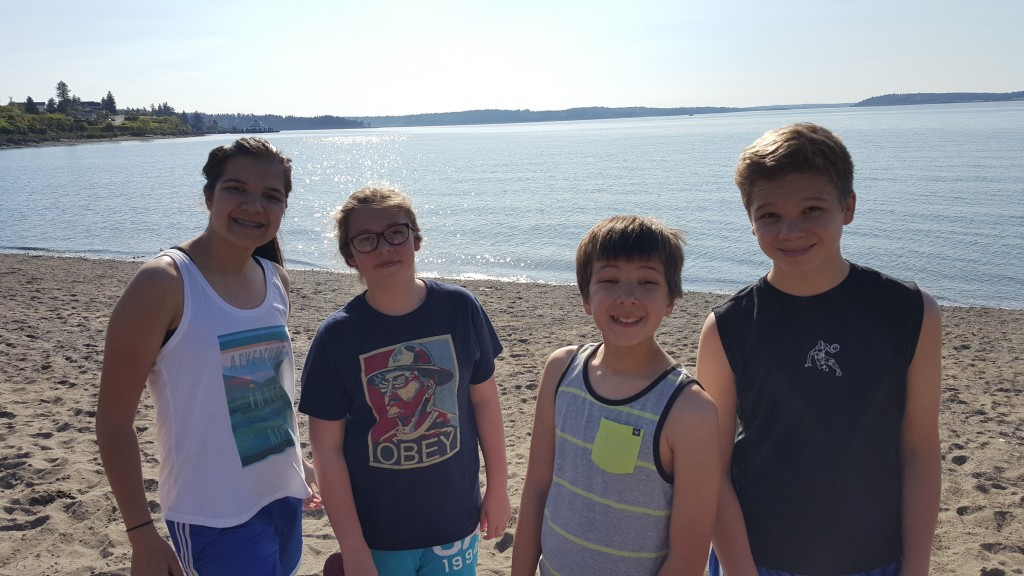 Beach time - almost too hot for these WA natives.
