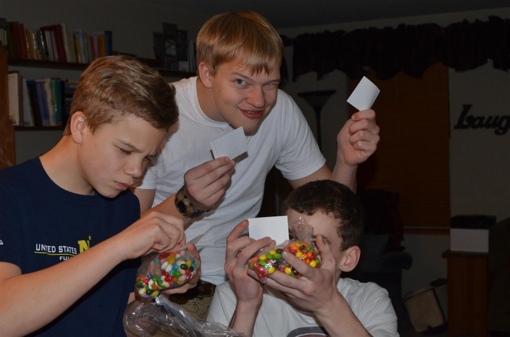 """Can you """"earn"""" a vote with some Jelly Beans or Skittles?"""