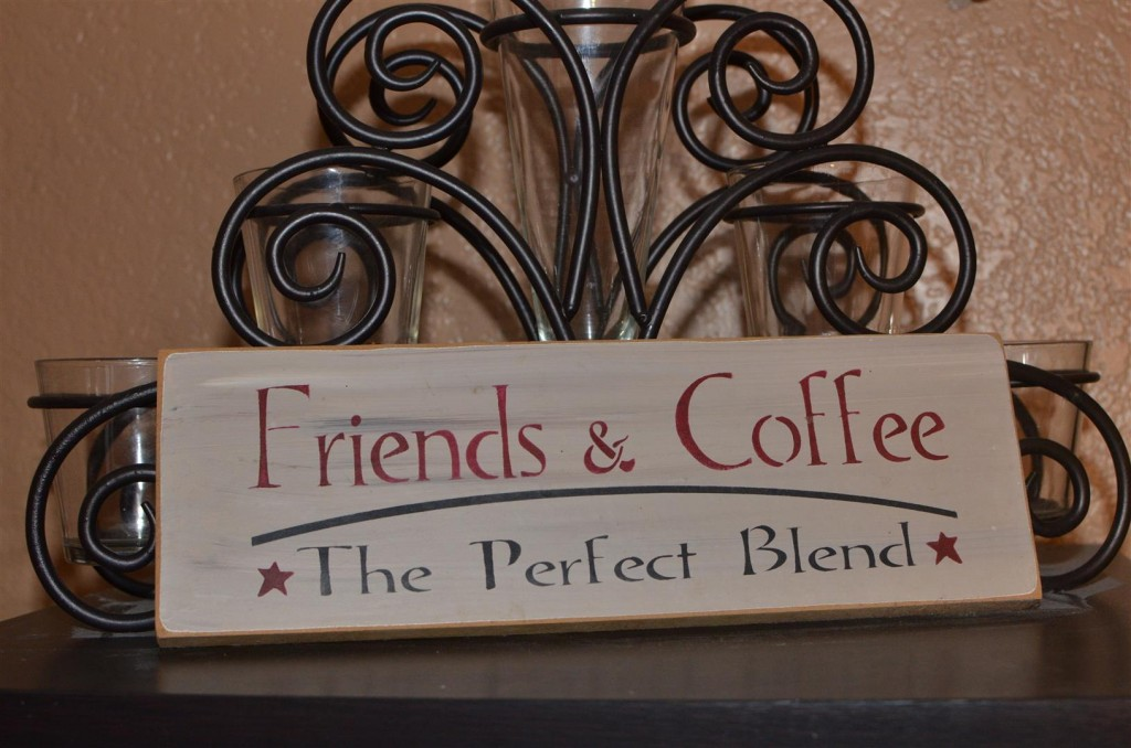 Coffee and Friends - perfect together!