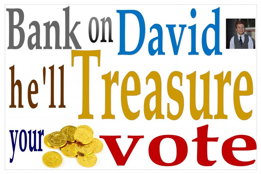 Shhhh- don't tell.  I'm definitely voting for David!