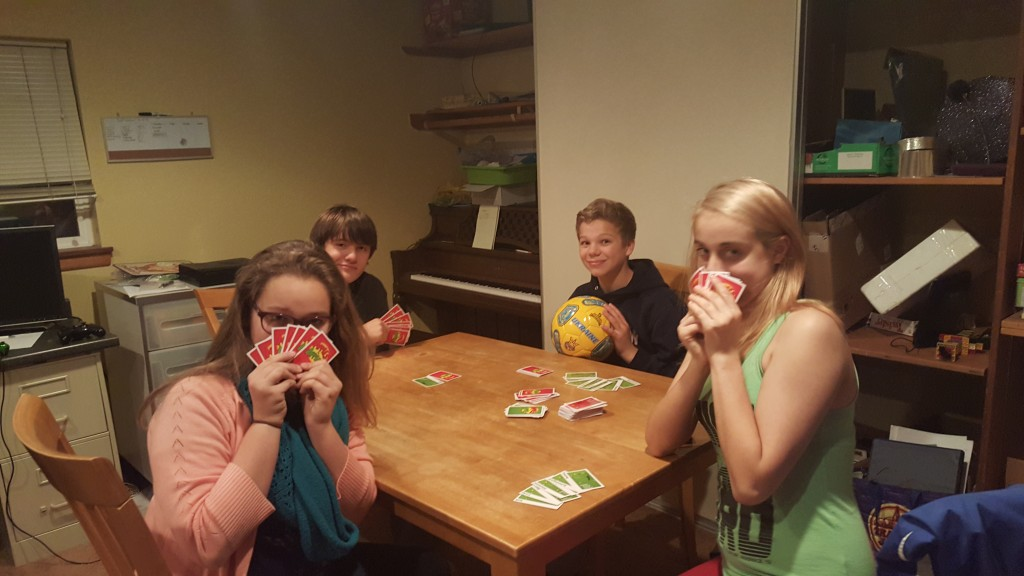 Apples to Apples with silly friends