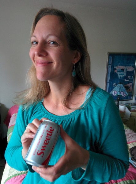 My Sweetie is good to me, especially when she buys me Diet Coke.