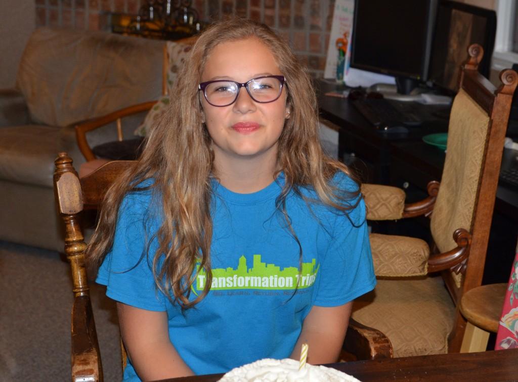 Sarah is 13!!!!