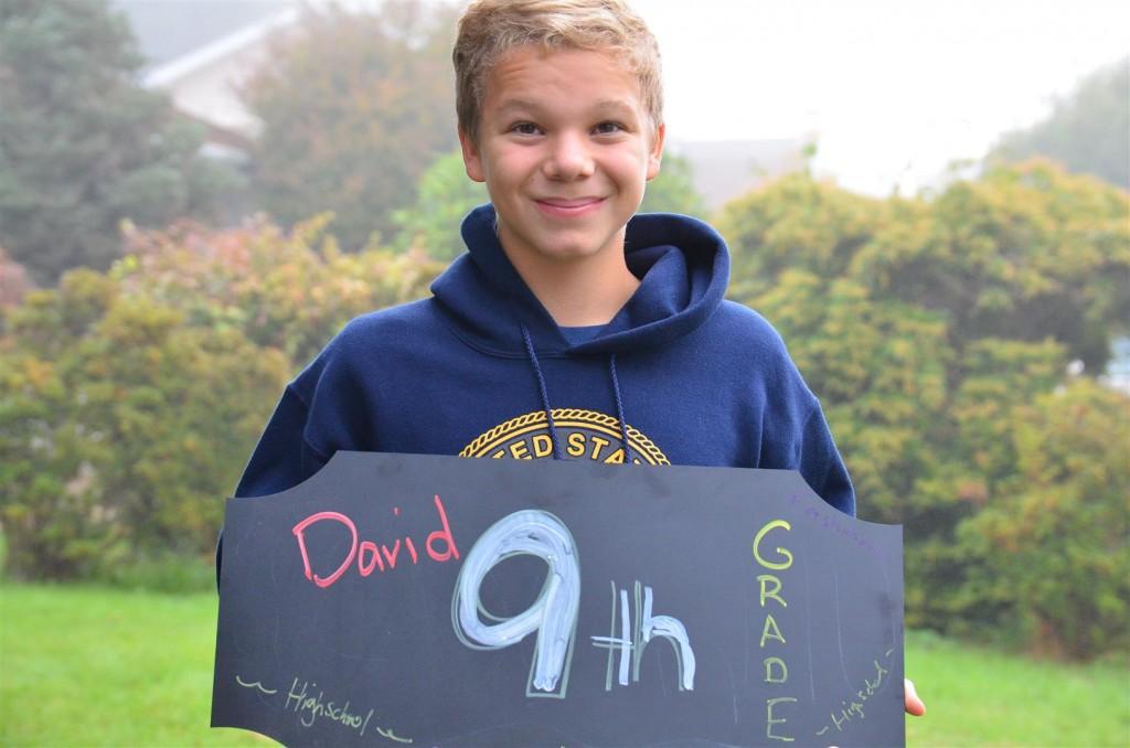 David - freshman!!!