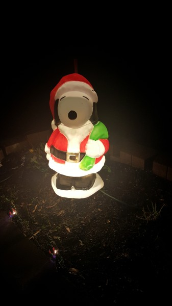 Nothing says Christmas like a little bit of Snoopy