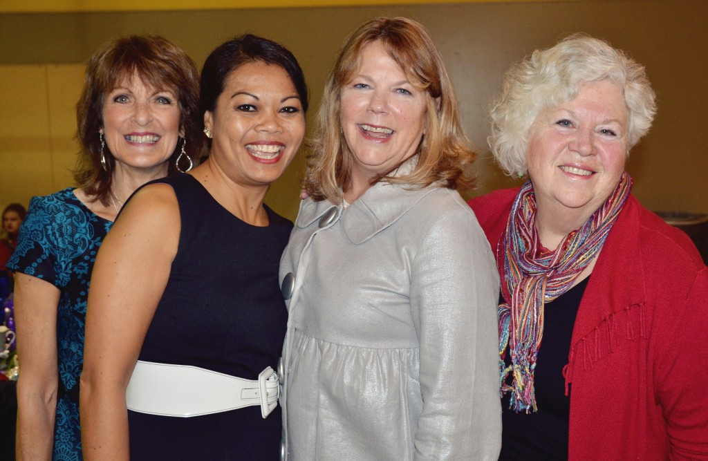 Lynn, Panida, Sue and Judy - such wonderful, dear friends.
