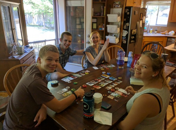 A quick game of Splendor