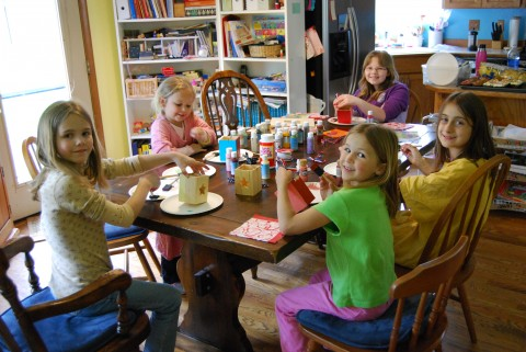 crafting girls