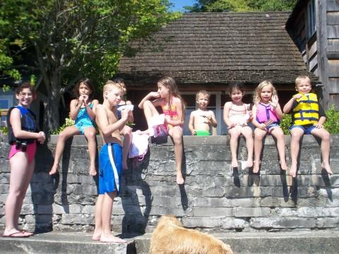 group of kiddos