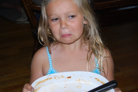 Where'd the food go?