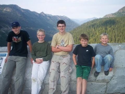 Boys of Chinook Pass