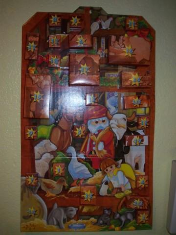 Playmobil Calendar