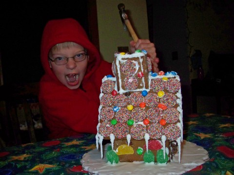 Gingerbread Demolition