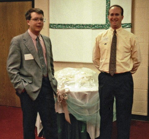 Mark and Jimmy-T at my wedding