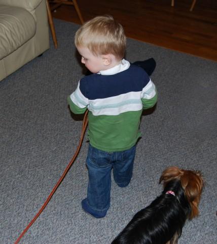 let's go, doggie