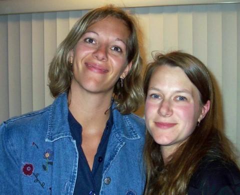 kathy and Tina