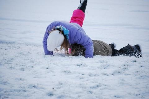 Eat snow, baby!