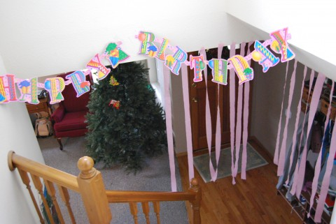 birthday morning decorations