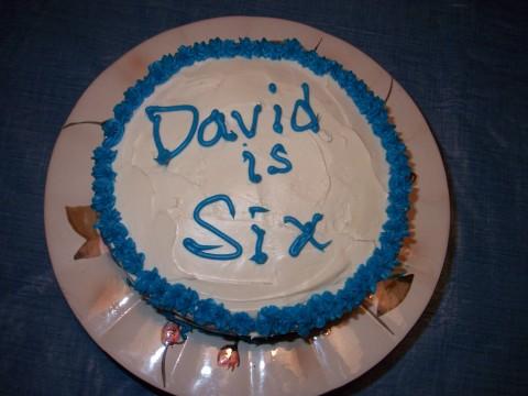 david's cake top