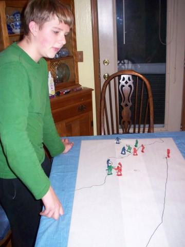 plotting battles