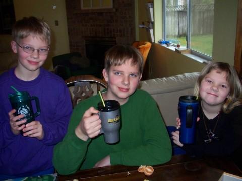 hot cider trio