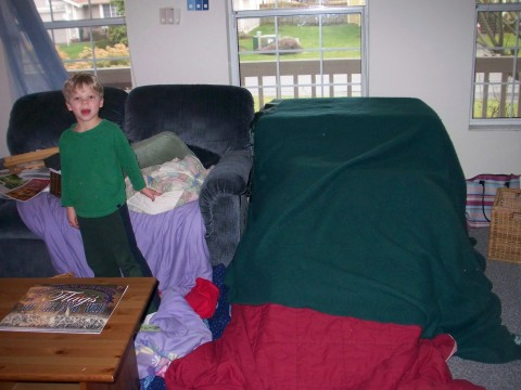 david and the fort