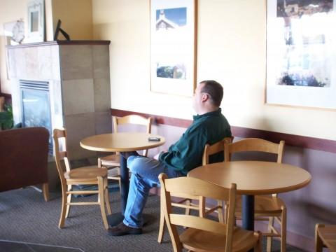 tim coffee shop
