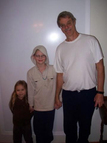 daniel, sarah and g'dad