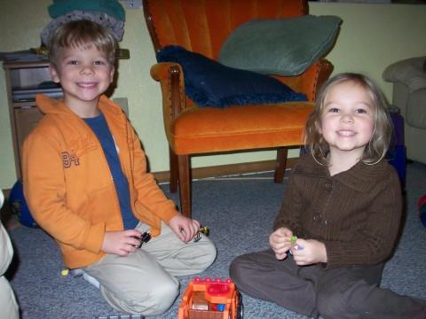 David and Sarah play