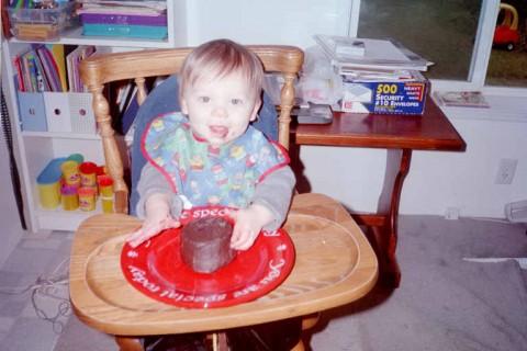 david 1 year old