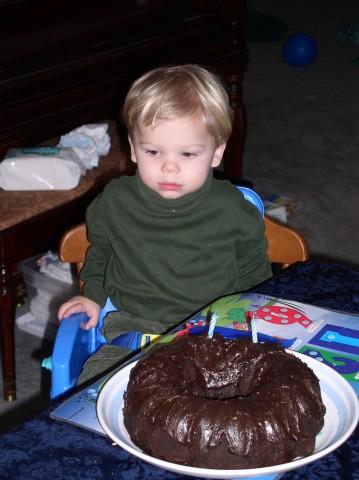 two year old david