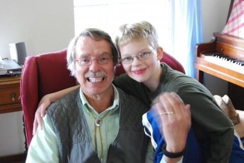 grandad and daniel