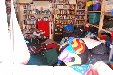 Almost enough bookshelves