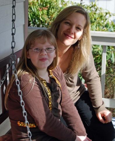 rachel and her mama