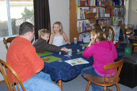 A family game of Zooloretto